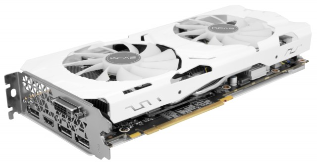 KFA2 GeForce GTX 1070 Ti EX-SNPR White