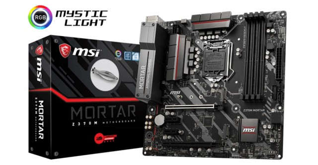 MSI Z370M MORTAR