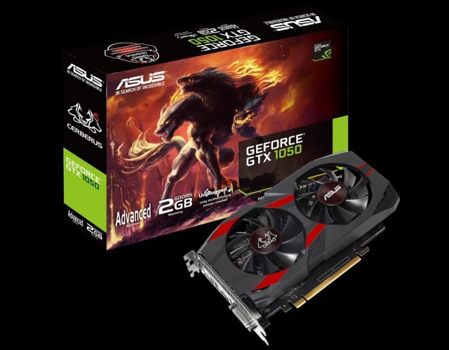 ASUS Cerberus GeForce GTX 1050
