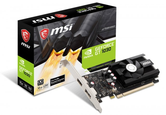 MSI GeForce GT 1030 2GD4 LP OC
