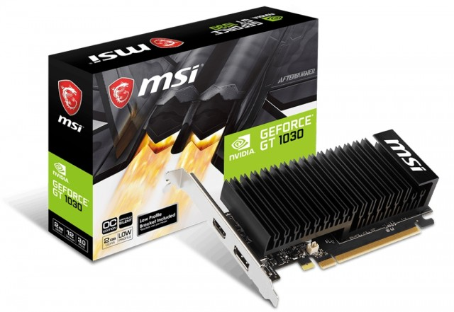 MSI GeForce GT 1030 2GHD4 LP OC