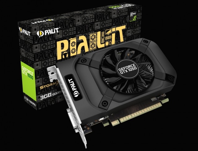 Palit GeForce GTX 1050 StormX 3GB