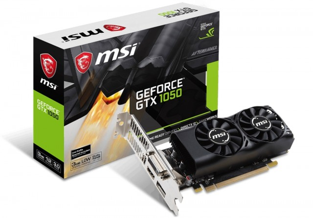 MSI GeForce GTX 1050 3GT LP