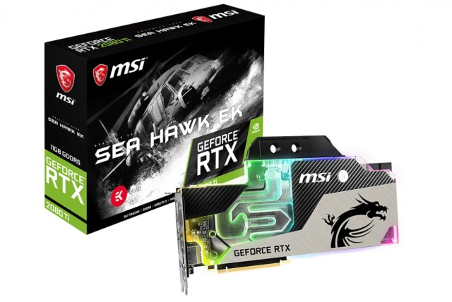 MSI GeForce RTX 2080 Sea Hawk EK X
