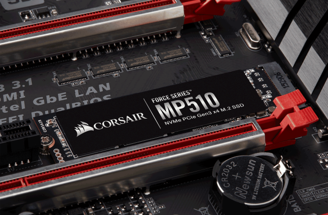 CORSAIR Force Series MP510 M.2 PCIe NVMe SSD
