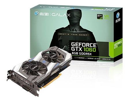GALAX GeForce GTX 1060 OC 6GB