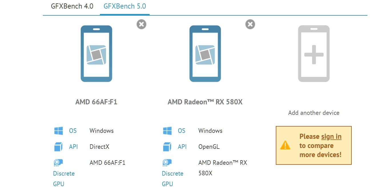 AMD Navi предположительно засветился в GFXBench 5 0  Новости  GECID com