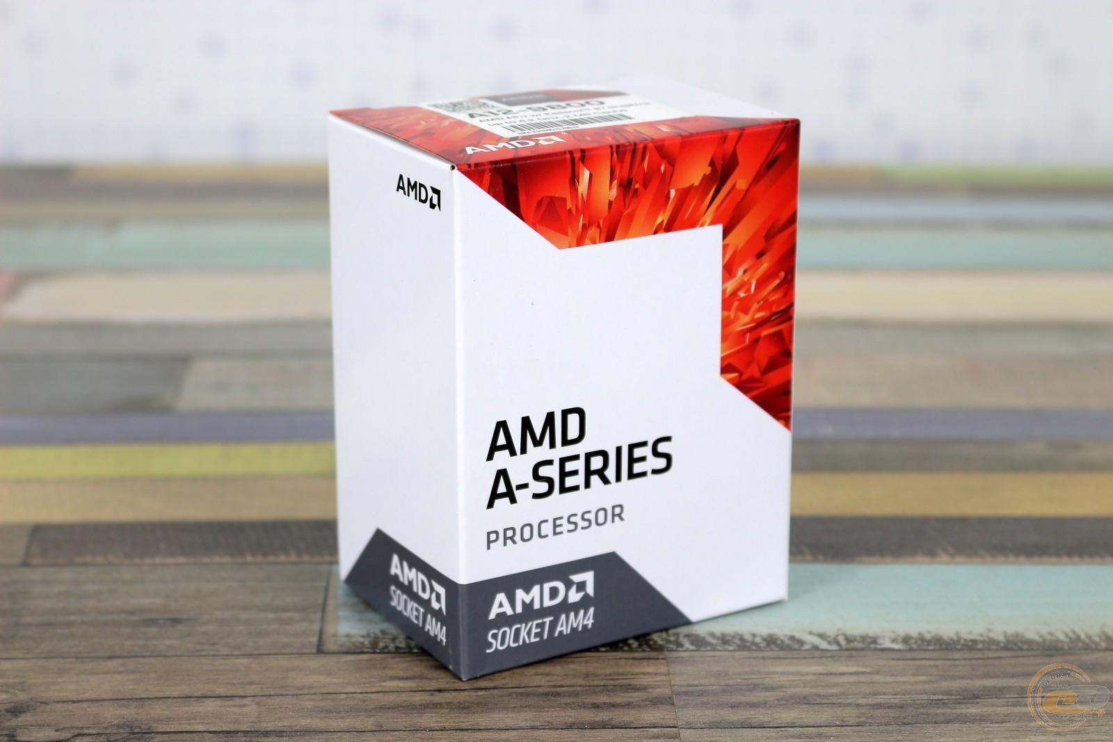 В продажу поступил новый 28-нм процессор AMD A6-9400 поколения ...