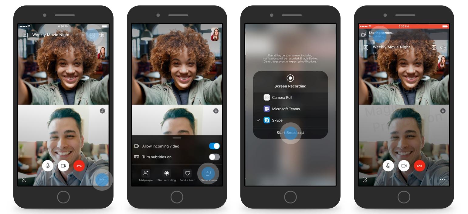 Android демонстрация экрана