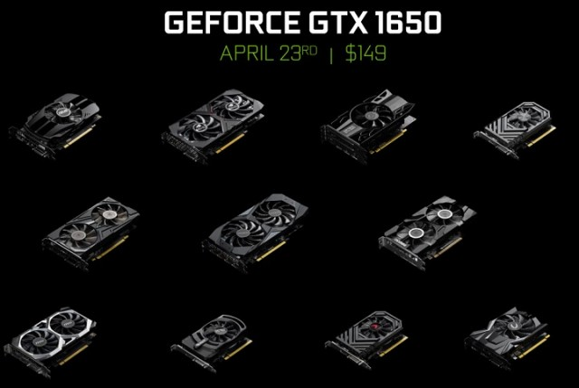 NVIDIA GeForce GTX 1650