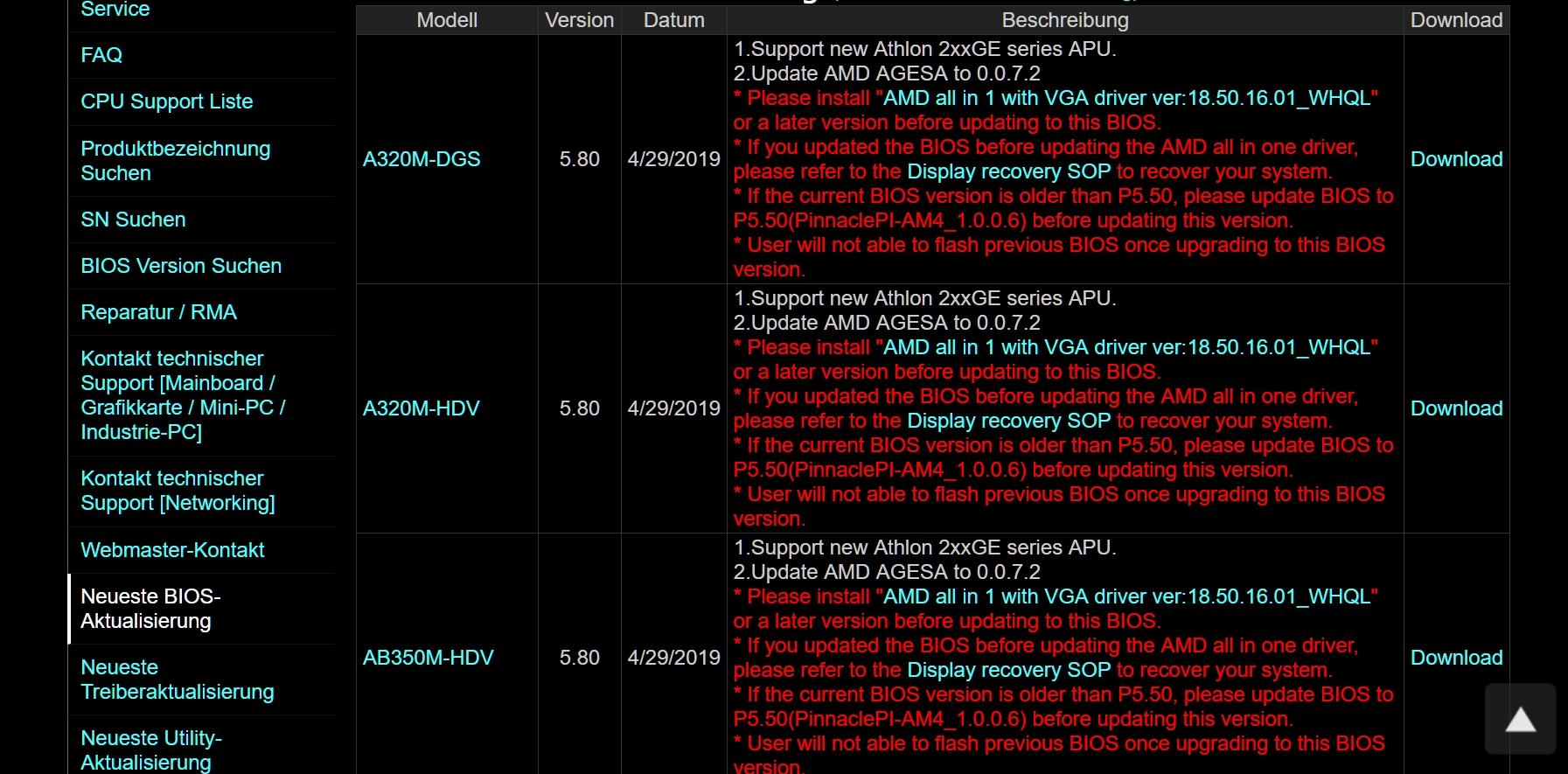Платы на AMD A320 получили поддержку AGESA 0 0 7 2  Новости  GECID com