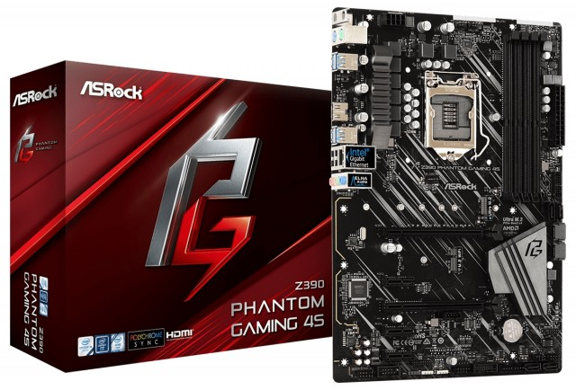 ASRock Z390 Phantom Gaming 4S
