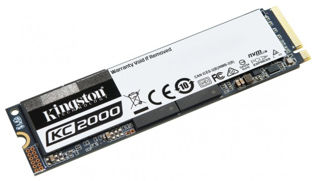Kingston KC2000 NVMe PCIe SSD