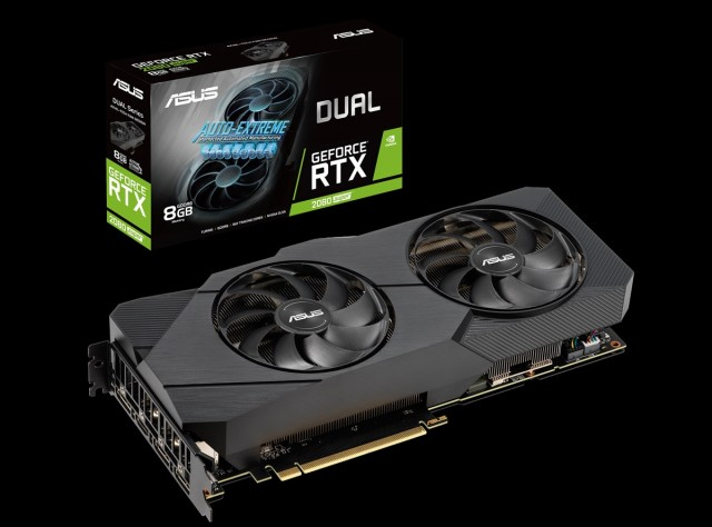 ASUS Dual GeForce RTX 2080 SUPER EVO