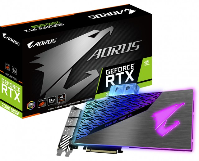 GIGABYTE AORUS GeForce RTX 2080 SUPER WATERFORCE WB 8G