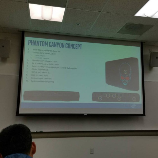 Intel NUC Phantom Canyon