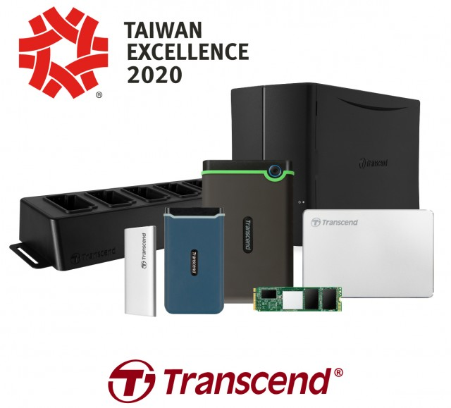 Transcend Taiwan Excellence Award 2020