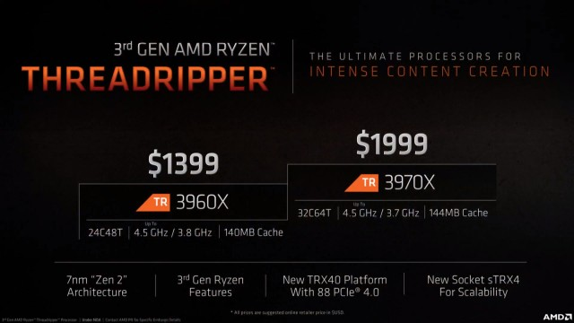 AMD Ryzen Threadripper 3900