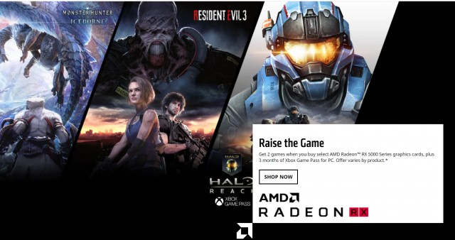 AMD Radeon Raise the Game