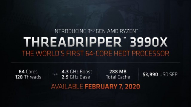 AMD Ryzen Threadripper 3990X