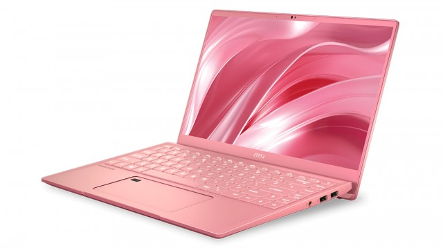 MSI Prestige 14 Limited Edition Rose Pink