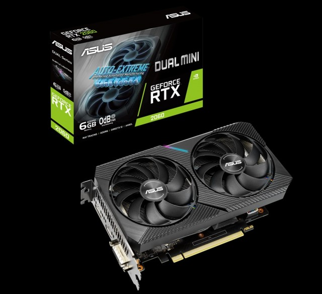 ASUS Dual GeForce RTX 2060 MINI