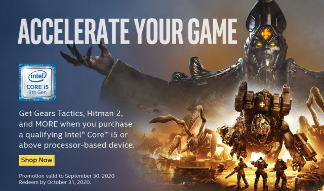 Intel Accelerate Your Game