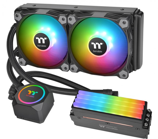 Thermaltake Floe RC360 RC240 CPU & Memory Liquid Cooler
