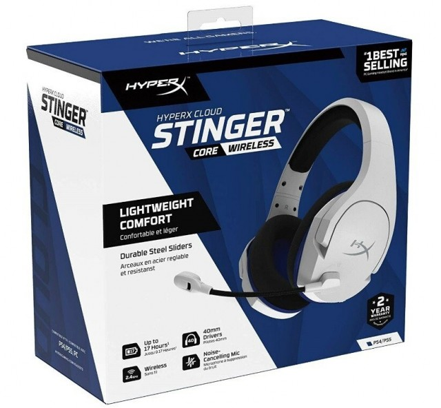 HyperX Cloud Stinger Core Wireless 7.1