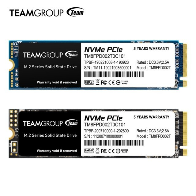 TEAM GROUP MP33 PRO PCIe SSD CX Series 2.5-inch SSD