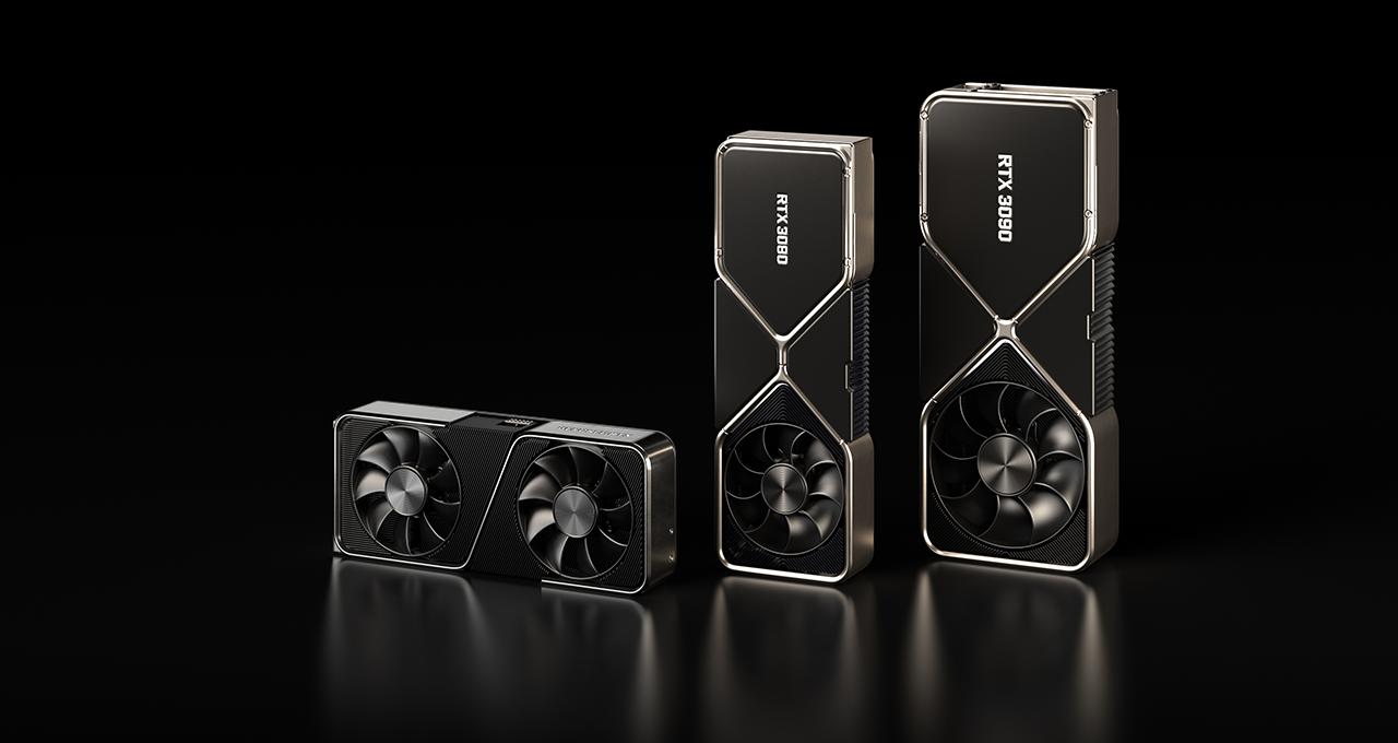 Графический процессор NVIDIA GeForce RTX 3070 (GA104-300) запечатлен на фото