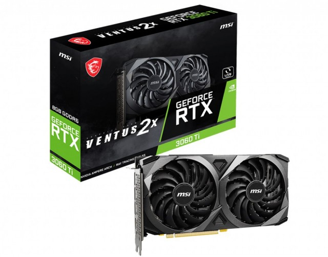 MSI GeForce RTX 3060 Ti VENTUS 2X V1