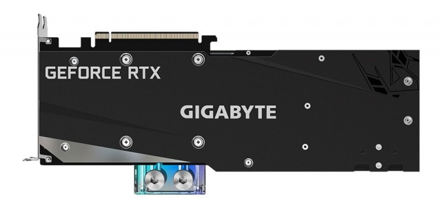 GIGABYTE GeForce RTX 3080 GAMING OC WATERFORCE WB