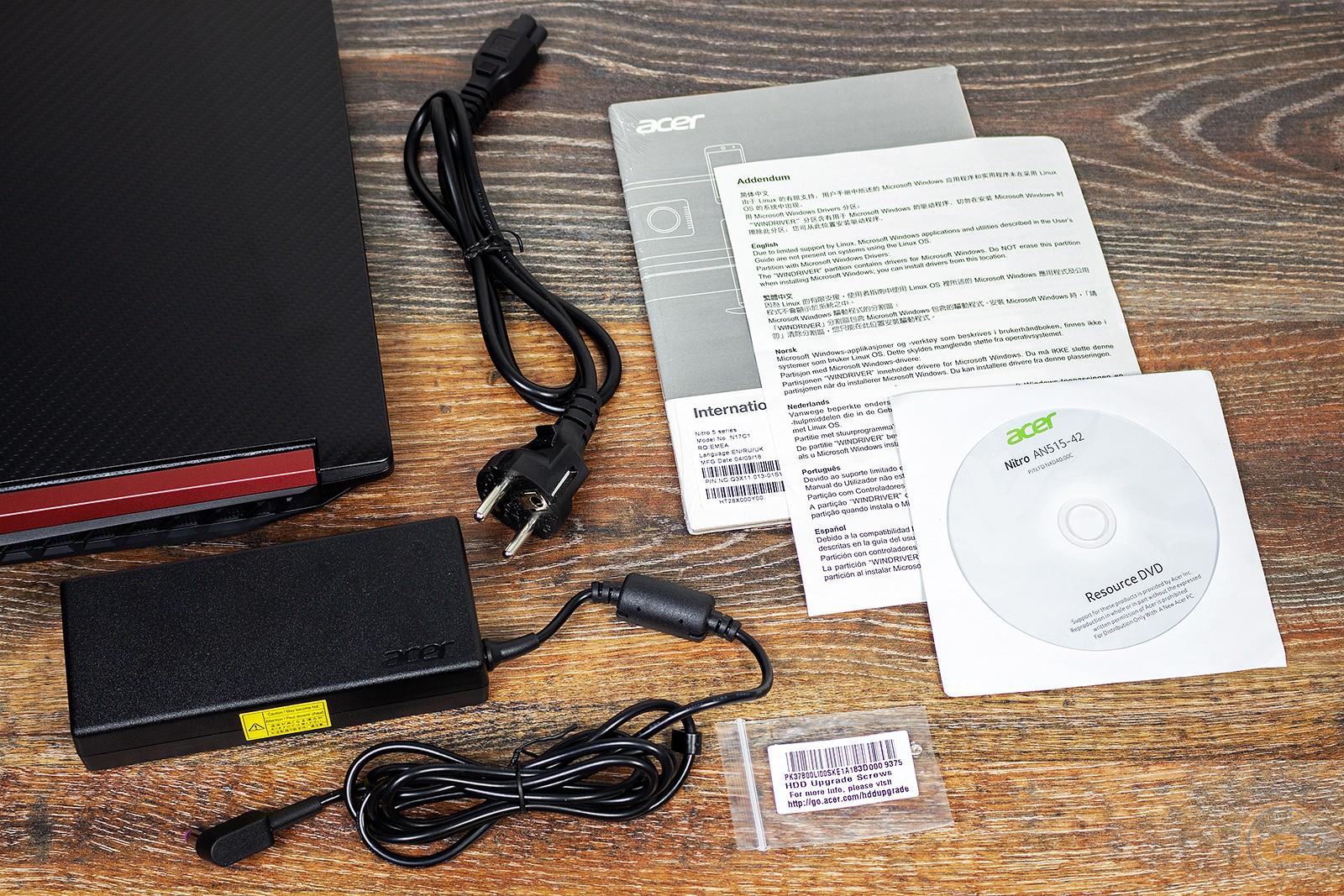 GECID com: Обзор и тестирование игрового ноутбука Acer Nitro 5: AMD