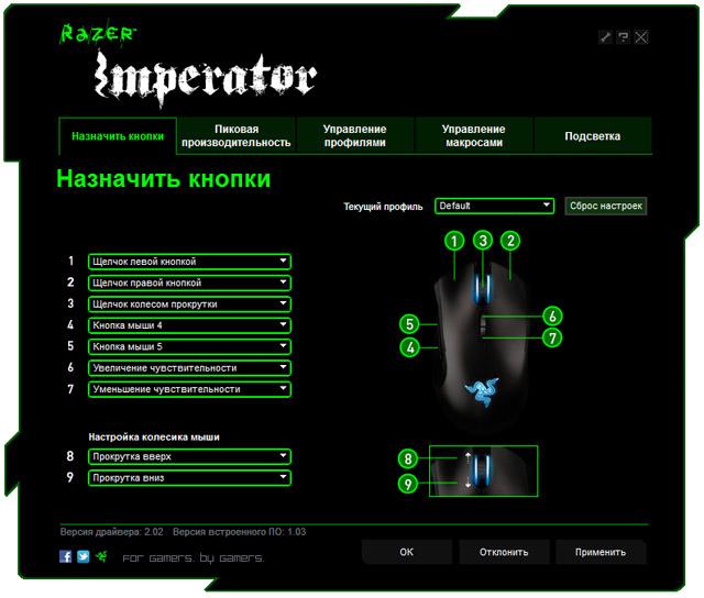 Razer программа для мыши - фото 5