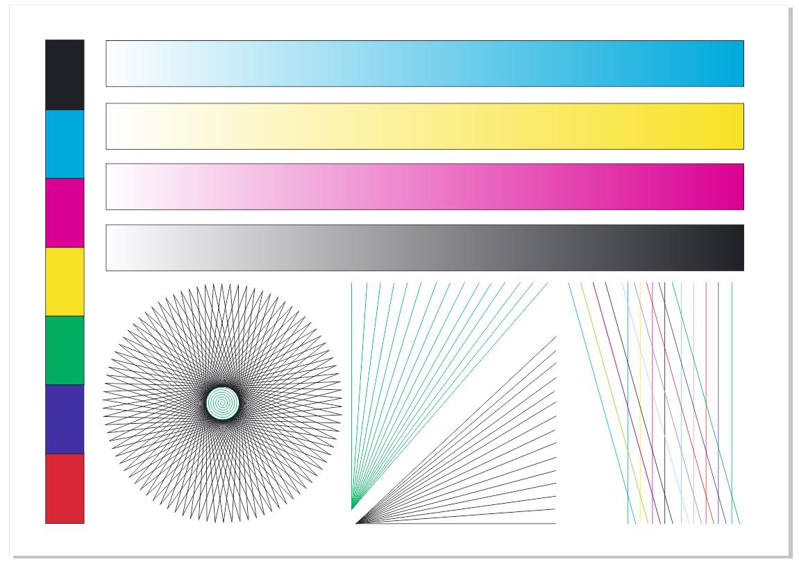 Проверка принтера цвета