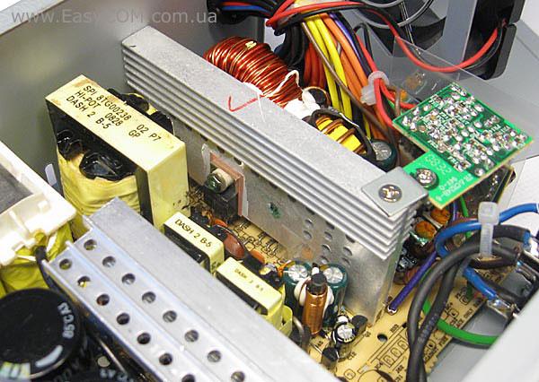 Транзисторы и диоды блока