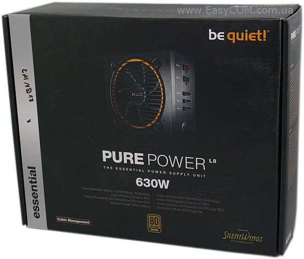 be quiet! PURE POWER BQT L8-CM-630W