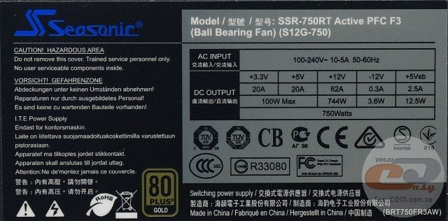 Seasonic SSR-750RT