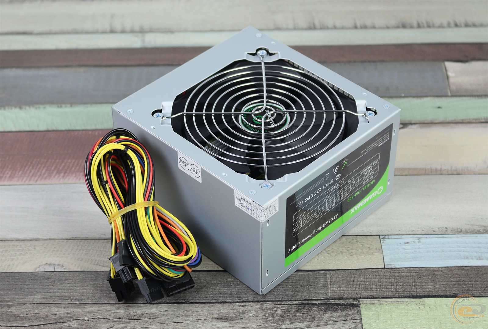 Gamemax Gm 500 1 Gecidcom Power Supply 450watt Psu Gp 450 80 Plus Bronze 14cm Fan