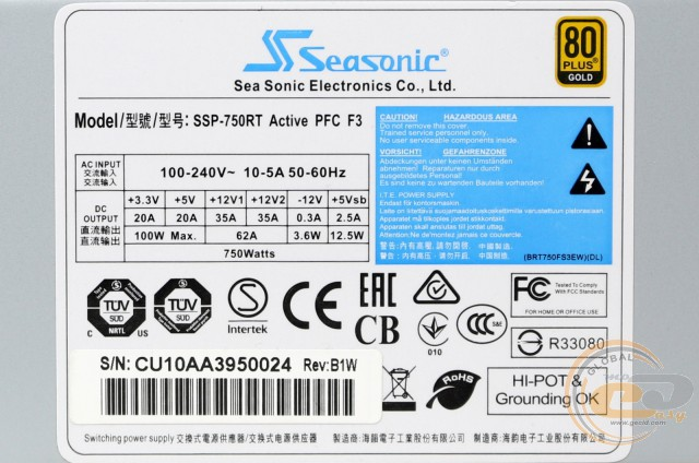 Seasonic SSP-750RT