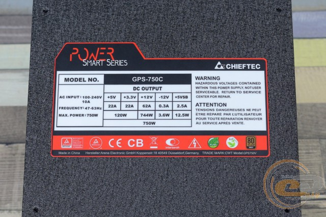 CHIEFTEC POWER SMART GPS-750C