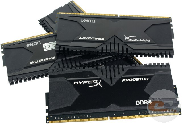 DDR4-3000 Kingston HyperX Predator HX430C15PBK4/16