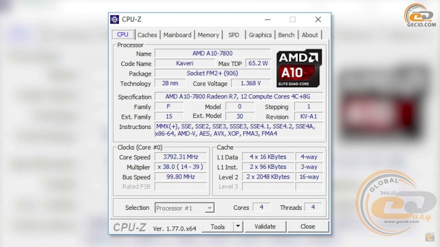 AMD Radeon R7 Graphics