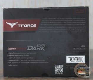 TEAM GROUP T-FORCE GAMING DARK PRO