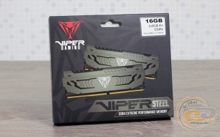 DDR4-3733 Patriot Viper Steel PVS416G373C7K