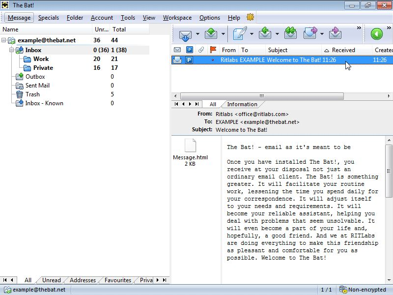 Скачать бесплатно The Bat! v4.2.10.1 Professional Edition Final.