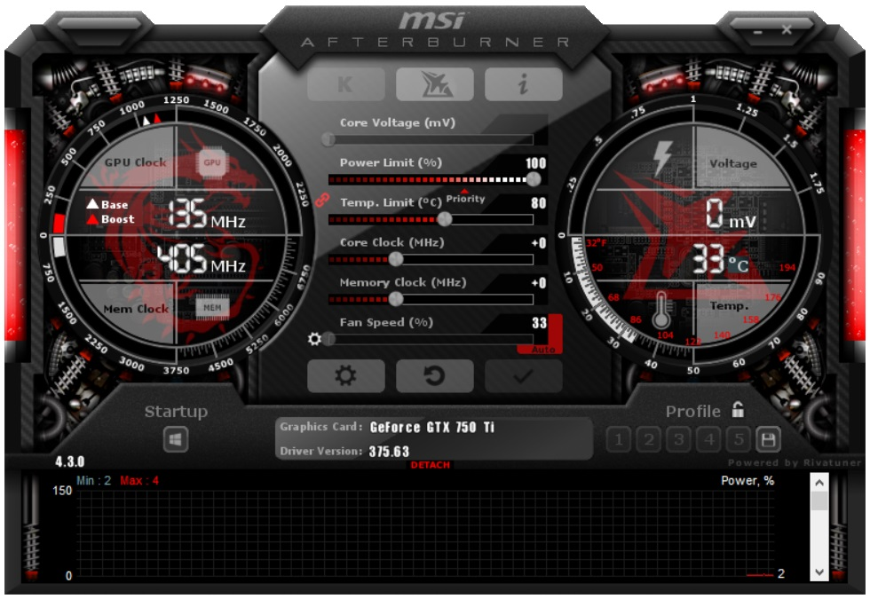 Afterburner msi