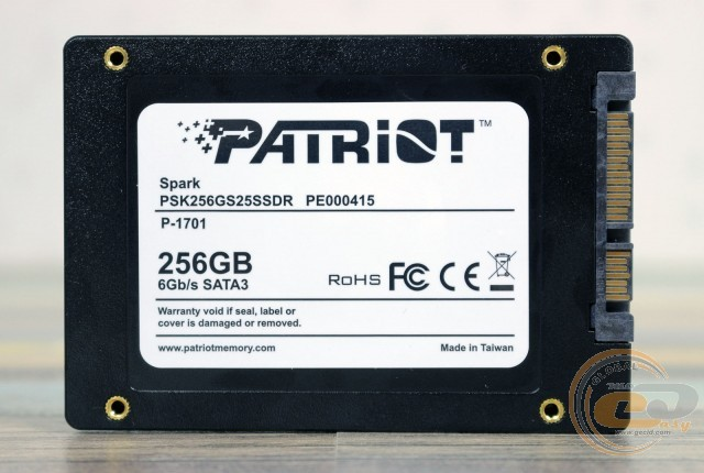 Patriot Spark (PSK256GS25SSDR)
