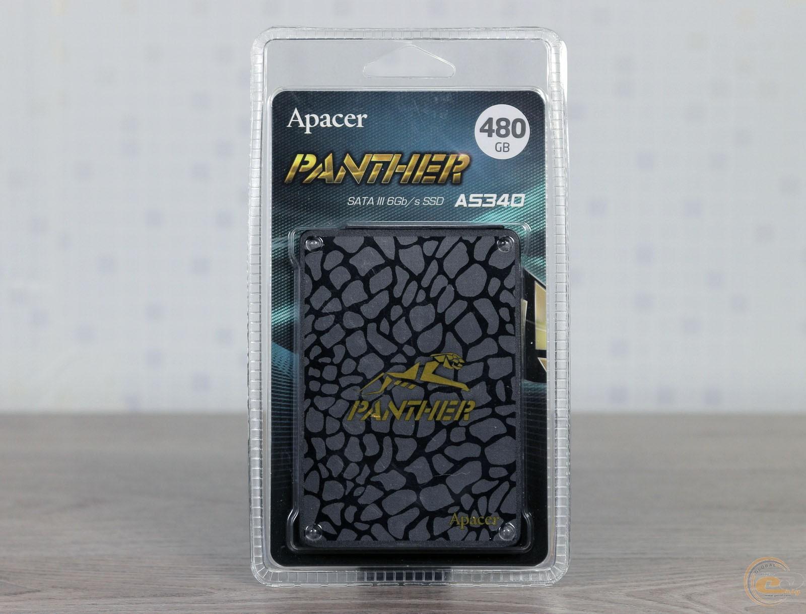 Apacer PANTHER AS340